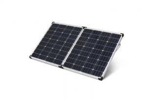 China 12V Lightweight Portable Solar Panels / Camping Solar Panels For Military supplier