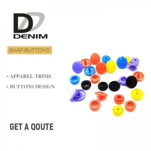China Plastic Snap Fastener Buttons Fashion Colorful Childhood Lead Free on sale