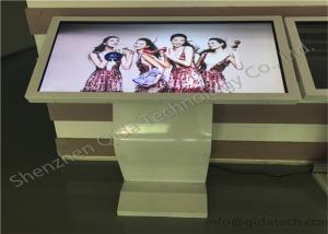 China Indoor standing 42 inch infrared touch music wifi interactive lcd led monitor information checking kiosk on sale