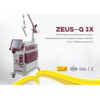 10Hz Frequency Laser Tattoo Removal Machine Q Switched Nd Yag Picosecond Pigment Treatment