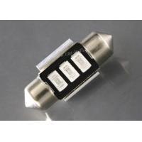 China 3 Pcs 5730 LED 31MM Car Dome Light Bulbs , Blue Auto Led Trunk Lights on sale