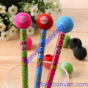 China toy gift pencil eraser, pencil topper gift eraser, printed pencil eraser on sale