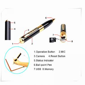 China mini pen hidden micro camera mini dv dvr video camera  spy camera pen on sale