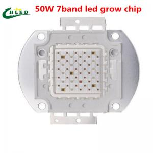 China 7band led grow chip 50W full spectrum COB Led Grow Light Chip for plant seeding on sale