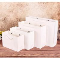 China Wholesale custom 100gsm twisted paper handle recycle food pizza boxes shopping kraft brown paper bag on sale