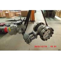 Casting Steel Eccentric V Notch Ball Valve for Water / Steam / Oil DN15 - DN400