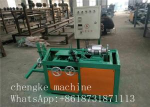 China Less trouble and low price Semi - automatic Chain Link Fence Machine manufacturer on sale