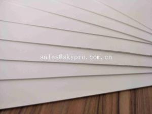 Eco - Friendly Die Cut Plastic PVC Conveyor Belt Waterproof Solid