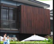 China Eco Friendly Bamboo Timber Wall Panels , Exterior Wood Plank Wall Paneling on sale