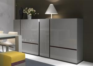 China Contemporary Modern Kitchen Cabinets With High Gloss Painting on sale