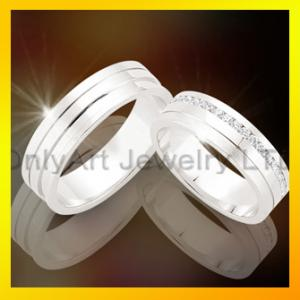 China fashion jewelry 925 sterling silver couple rings ,wholesale fashion rings on sale