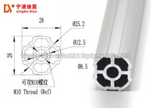 China Strengthen Lean Tube Bar Extrusion Pipe With Aluminium Material 4000mm Length on sale