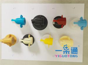 China Electrical Box BIB Vitop Connector For Butterfly Valve / 0.5-220L Packing Bag on sale