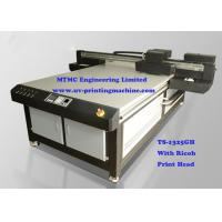 High Resolution UV Inkjet Printer With Ricoh GH2220 Metal Printing Machine
