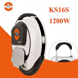 China KINGSONG KS-16S ONE WHEEEL ELECTRIC SCOOTER 680WH 840WH BATTERY 1200W MOTOR POWER 30KM/H on sale