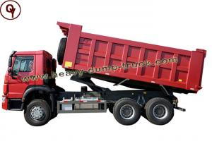 China Air Suspension Seat HOWO 20 Cbm Heavy Dump Truck With Right Hand Drive on sale
