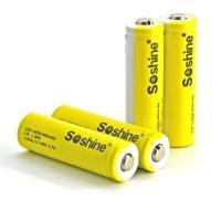 Soshine Battery 3.7v 900mAh 4  Li-ion 14500/AA