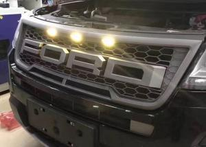 China Ford New Explorer 2016 2017 Auto Spare Parts Modified Front Grille Black Chrome on sale