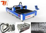 CNC Laser Metal Cutting Machine for Metal Sheet , Continuous Working 24 Hours
