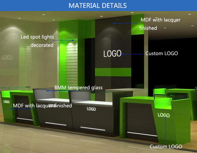 Item Name. Mobile Phone Shop Interior Design