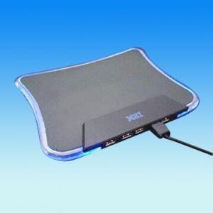 China Alfombrilla de ráton de la iluminación con el eje de cuatro orificios del USB, compatible con Windows 98/Me/2000/XP y Mac OS 8.58-9.X on sale