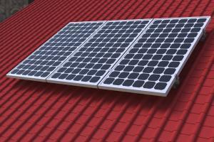 China Roof Solar Mounting Aluminium Profile System , Custom Aluminum Extrusions on sale