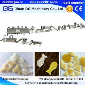 China Jinan DG extruder Automatic Pellet Snack Food Making Machine/Panipuri Golgappa Snack Pellets Maker/processing equipment on sale