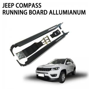 China JEEP Compass Automatic Step Bars Professional Customized Textured on sale