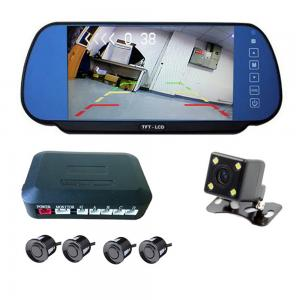 China Universal Car Reverse Sensor With Mirror Camera / 7 Inch TFT LCD Display on sale