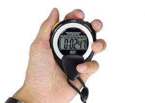 China Digital Sports Watch Step Counter , Handheld Pedometer Wrist Watch Electronic Chronograph on sale