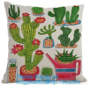 China Pillow Case Cover Reusable Eco Bags Cushion Cover Chevron Design Cushion Cover In Gre on sale