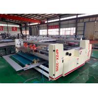Semi Automatic Carton Box Forming  Pasting Machine  / Pressure Gluer Machine For Carton Box
