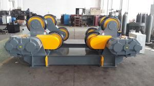 China Tanks Turning Heavy Duty Roller Stand , Rubber / Polyurethane Pipe Rollers For Welding on sale