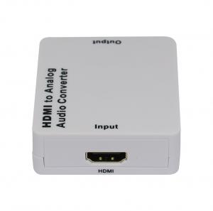 China White HDMI to Analog Audio Converter Audio Extractor Compliant with HDMI1.3 on sale