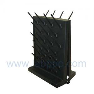 Quality SH362BD-Black double faced Lab Pegboard,27 pegs;400*550mm,black lab drying rack for sale