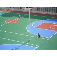 Polyurethane Basketball Court Flooring Full System With Water Base Top Coat