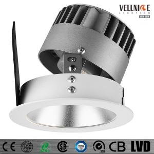 China 7W/10W/15W/20W/30W LED Recessed Downlight Interior IP20 Tilt25 Degree Fixed And Adjustable on sale