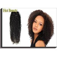 China 10-30 Inch Brazilian Remy Human Hair Deep Wave With Closure Natural Black 1B# on sale