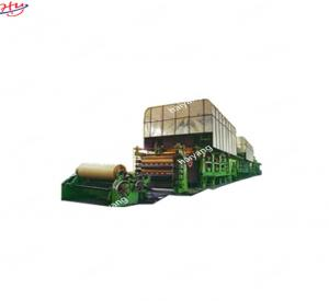 China Double Cylinder Mold Kraft Paper Machine Cement Bag Making Machine on sale