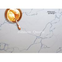 3m Length 2cm / 3cm Thickness Quartz Stone Countertops Smoothness Compact Structure
