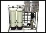 1000LPH Brackish Water RO System , Drinking Water Treatment Plant