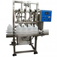 High Speed Bottle Filling System / Aircraft Semi Automatic Bottle Filler