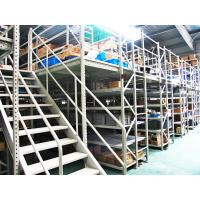 Blue , Orange Economical Rack Supported Mezzanine Steel Shelving Systems