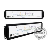 28 inch Wifi Bus Stretched LCD Display Open Frame Train Android High Brightness Bar Display