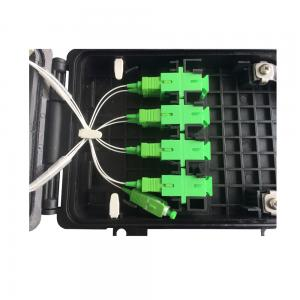 China 8 Port Fiber Optic Distribution Box IP68 For Network FTTH Waterproof Splitter Box on sale