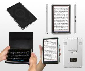 China 7 inch touch color TFT LCD Islamic Koran Digital Quran Ebook Reader in Urdu Arabic on sale