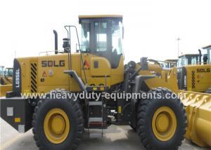 China Dual Brake Pedal Wheel Loader Construction Equipment  L956F  3 Valve Control on sale
