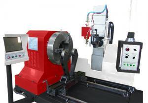 China CNC Pipe Profile Plasma Cutting Machine on sale
