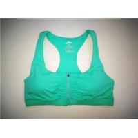 China Aqua Color  Women'S Active Vest Polyester Front Zip Race Back Color on sale