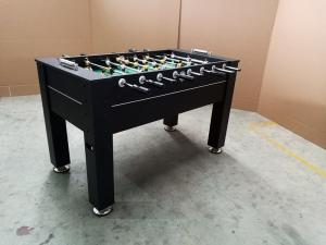 China Easy Assemble Standard Foosball Table , MDF Soccer Game Table With Leg Ball Return on sale